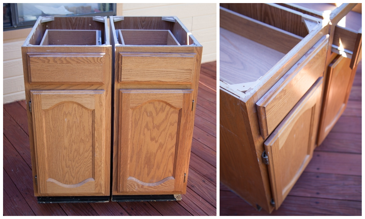 Recycled Kitchen Cabinets - KREATING HOMES